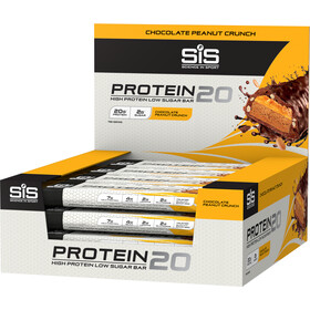 SiS Protein20 Bar 12 x 55g Chocolate Peanut Crunch